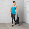 Prana W's Quinn Lightweight Chakara Top Cast Blue